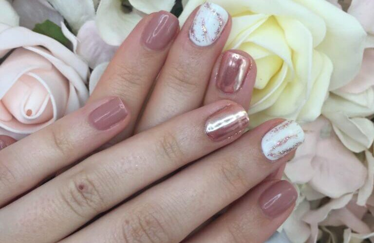pretty gel nails birmingham freelance beauty specialist